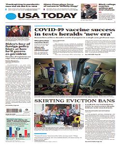 USA Today Magazine 23 November 2020 | USA Today News | Free PDF Download