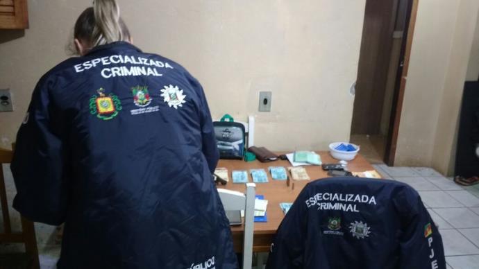 MP, Brigada Militar e Polícia Civil deflagram operação conjunta em Cachoeira do Sul. Foto: MP / Divulgação