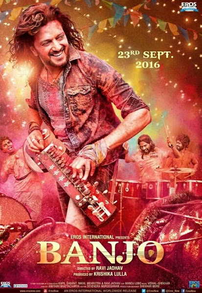 Poster Of Banjo 2016 480p Hindi DVDScr Full Movie Download