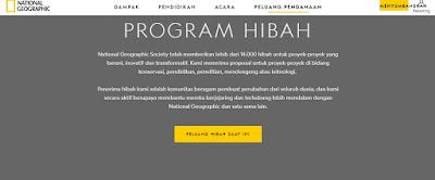 Cara Membuat Akun National Geographic Untuk Dana Hibah