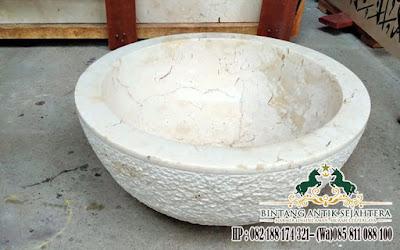 Wastafel Marmer, Wastafel Marmer Bowl Tulungagung