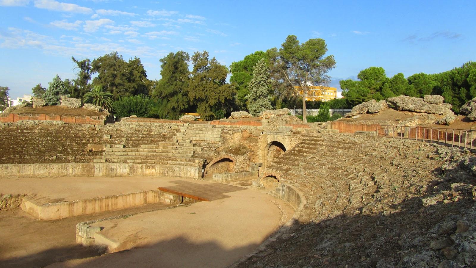 Mérida-Anfiteatro Romano