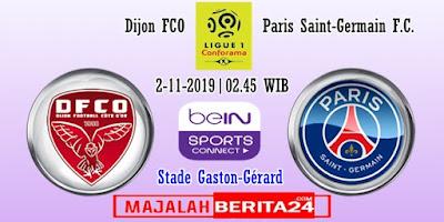 Prediksi Dijon vs Paris Saint Germain — 2 November 2019