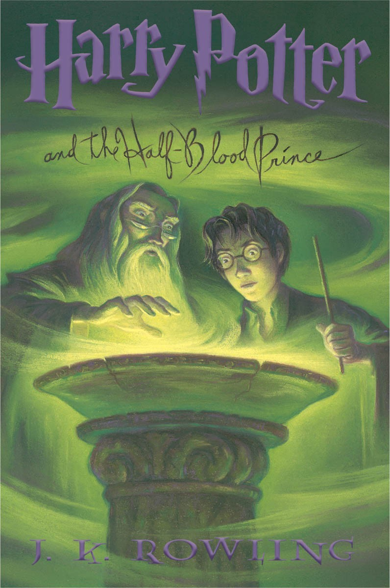 Harry Potter Book Dates ~ Harry potter and the half blood prince book release date