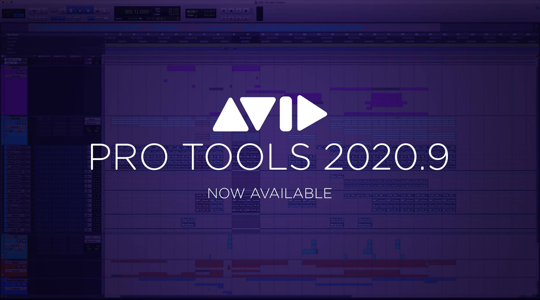 Pro Tools 2020.9 Now Available
