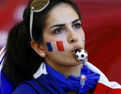 France Female Fans-3 Euro 2016