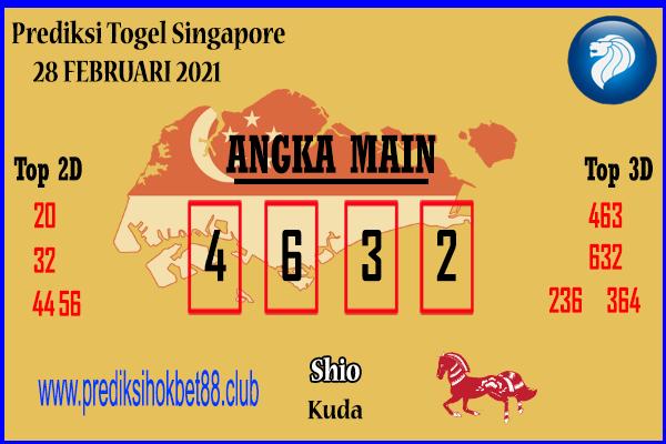 Bocoran Jitu SGP 28 Februari 2021