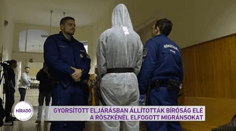 Gyorsított eljárással állítja bíróság elé az ügyészség a rühes röszkei ostromlókat