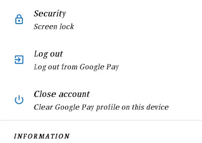 how to close google pay account in hindi