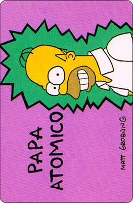 Bollycao The Simpsons Cromo 39