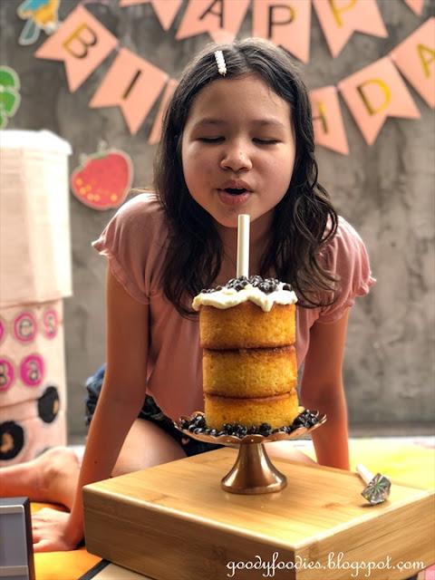 Boba birthday cake
