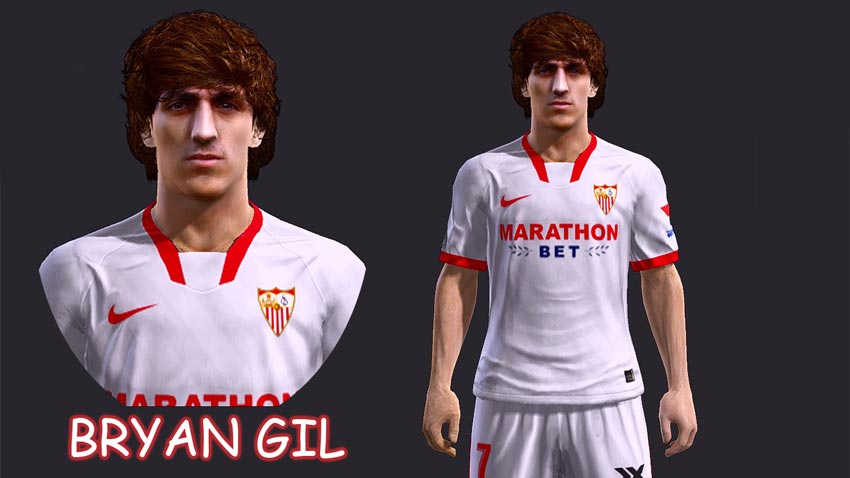 Faces Bryan Gil For PES 2013