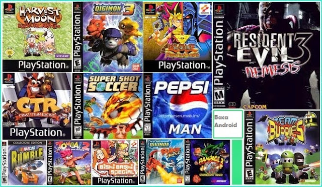 Download Kumpulan Game PS1 PSX Iso Ukuran Kecil (HIGH COMPRESS)