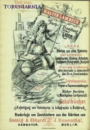 Toruniarnia Omnipotentny Księgarz Ernst Ferdinand Schwartz