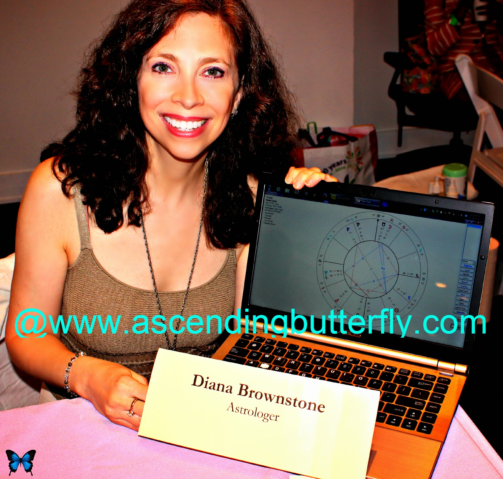 Astrologer Diana Brownstone at Getting Gorgeous 2014