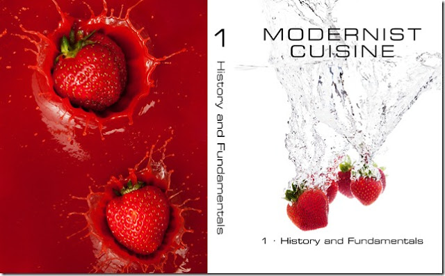 Modernist cuisine series cook book