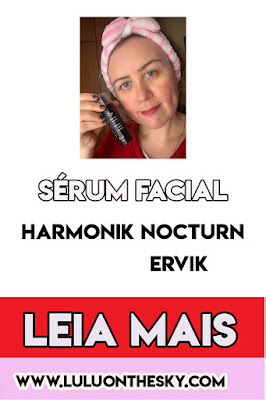 Sérum Facial Ervik Harmonik Nocturn Pró Aging