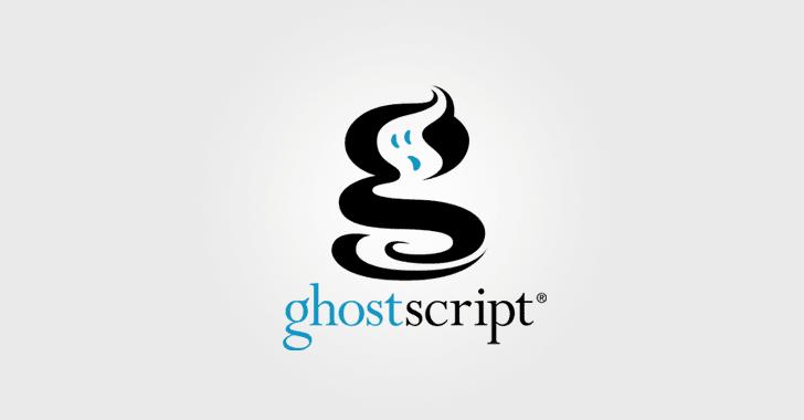 ghostscript postScript pdf vulnerability