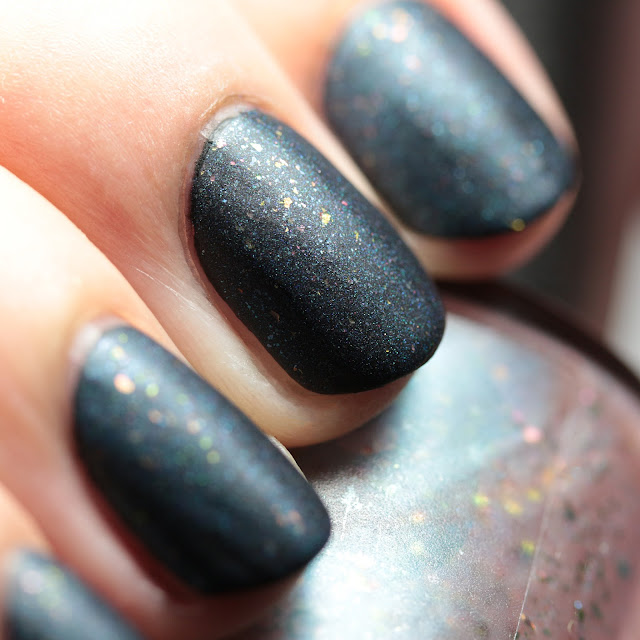 Bluebird Lacquer Sweet Nothings over Dark Matter