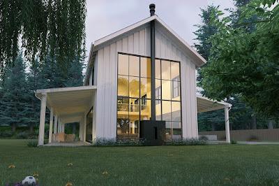 Nhà 1 tầng phong cách hiện đại