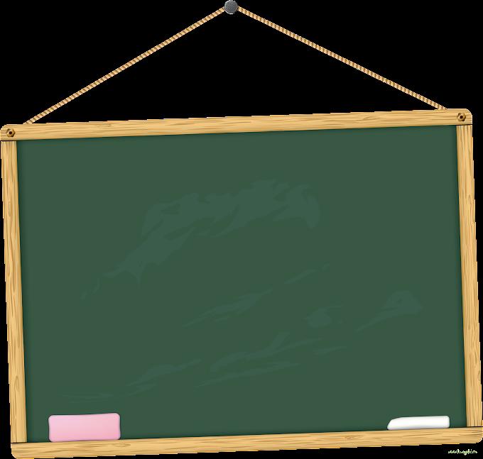 Student School Blackboard Classroom, Cartoon blackboard, green chalkboard, cartoon Character, angle, supplies png free png