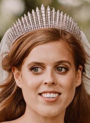fringe tiara diamond queen mary united kingdom e. wolff & co garrard princess beatrice