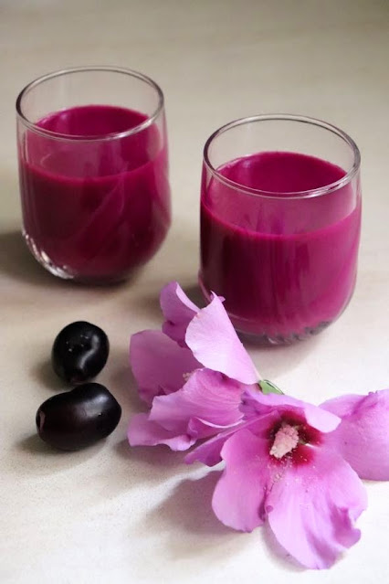 Jamun fruit juice