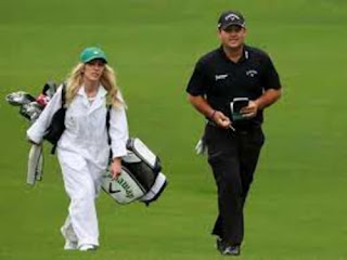 Patrick Reeds Wife Justine Karain Used To Be His Caddy
