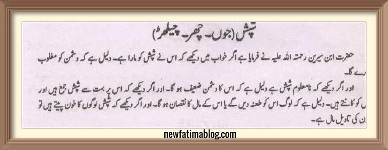 khwab mein joon dekhna,khwab mein lice dekhna,dreaming of lice interpretation in islam,