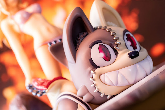 Figuras:  Clair Aoki & Shuichi Kagaya de Gleipnir - Fots Japan
