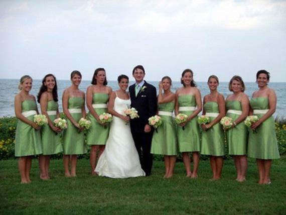 2017 Beach Bridesmaid Dresses