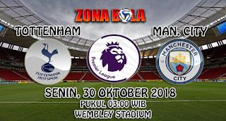 Prediksi Bola Tottenham Hotspur vs Manchester City 30 Oktober 2018