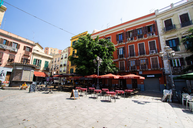 Piazza Jenne-Cagliari
