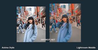 Tutorial edit Foto Anime Style Lightroom