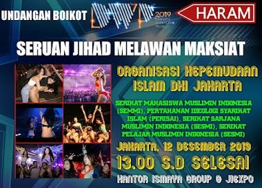 Hati Hati Acara Djakarta Wherehouse Project 2019 Haram