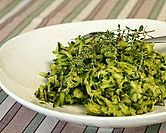 Shredded Zucchini with Thyme