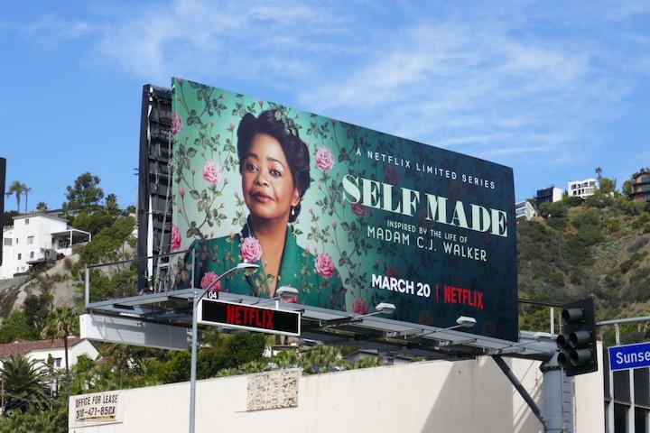 Self Made Netflix series billboard