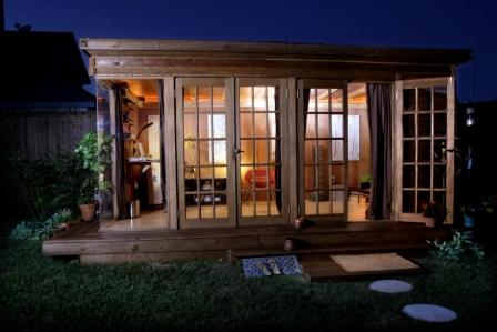 Life's Too Short To Live In Houston!: Backyard Guest Retreats