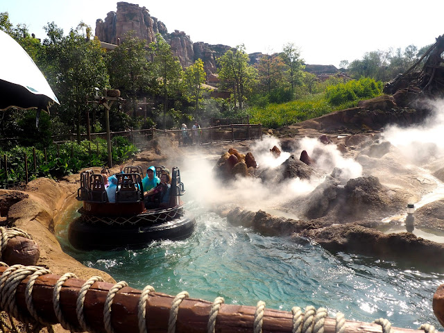 Roaring Rapids ride, Shanghai Disneyland, China