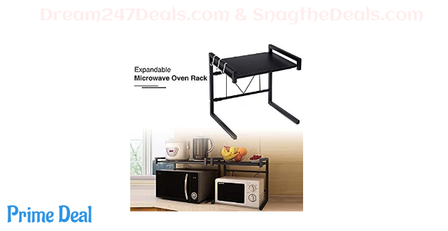 35% OFF Expandable Microwave Oven Rack