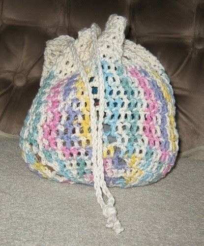 Simple Knits Two Bag Patterns 1 Crochet Amp 1 Knit