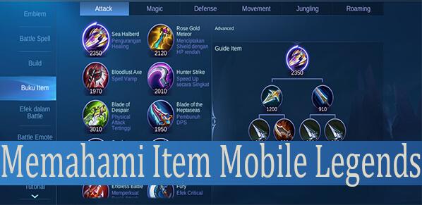Fungsi Item Mobile Legends