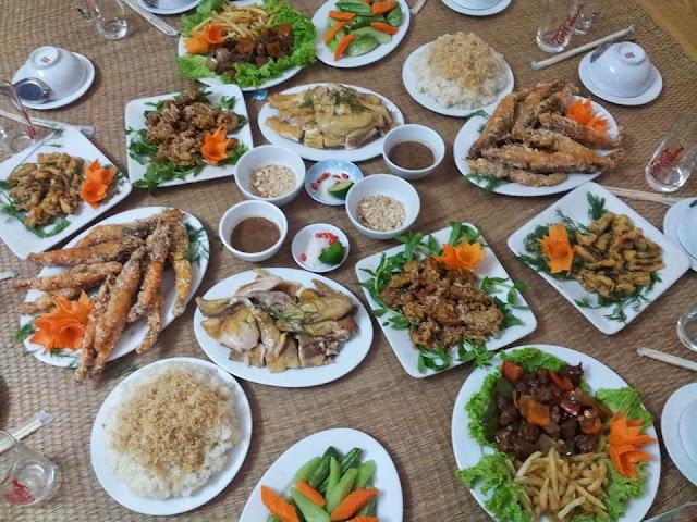 Dịch vụ nấu cỗ ở KĐT Phú Lương Hà Đông