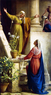 O nome Isabel (Imagem: Visita de Maria a Isabel - Heinrich Bloch)
