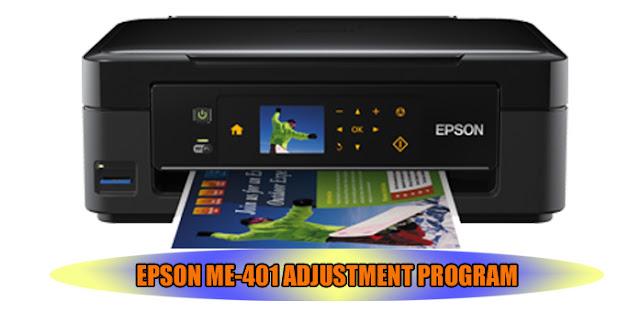 EPSON ME-401 PRINTER ADJUSTMENT PROGRAM
