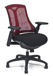 Layover Chair in Scarlet