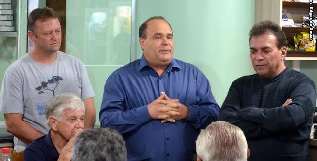 Viana participa de reunião do PMDB em Pitanga!