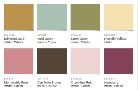 Each Year The Paint Brands Release Their Annual Color Mi Mas Amor Por Favor Scheme By Sherwin Williams Is A Great One For Exterior