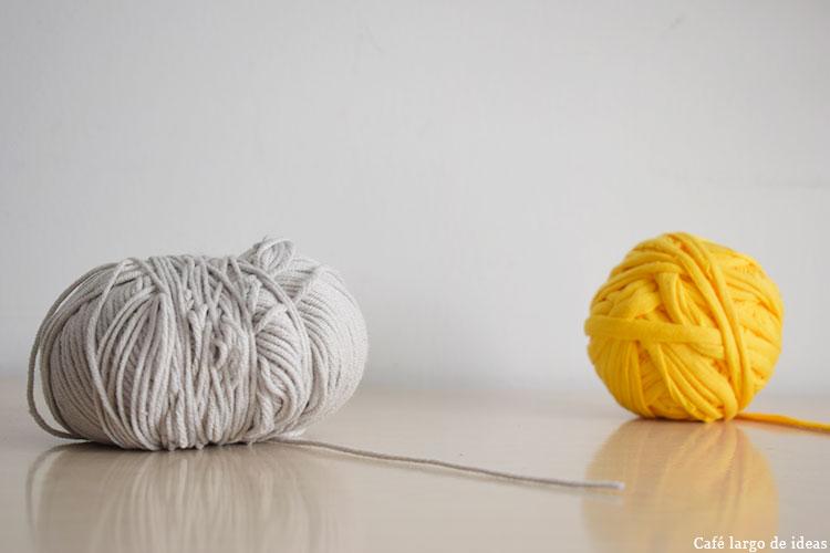 Cómo ordenar ovillos de lana y trapillo
