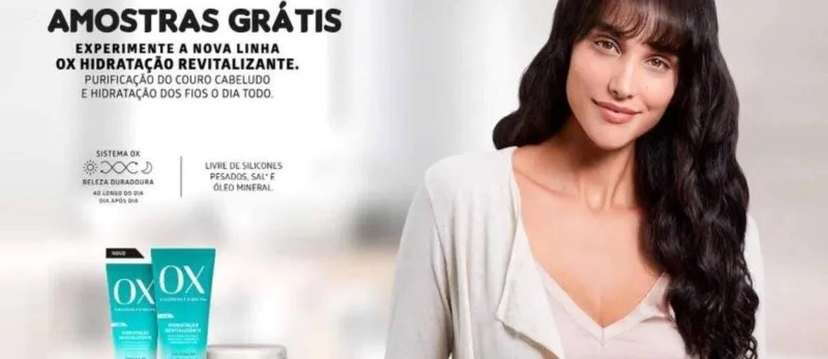 Promoção Lojas Amarelô e OX Cosméticos 2020 Ganhe Grátis Shampoo e Condicionador